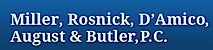 Miller, Rosnick, D'Amico, August & Butler's Company logo