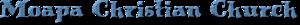 Moapa Christain Church's Company logo