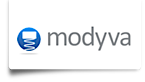 Modyva's Company logo
