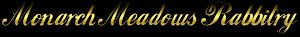 Monarch Meadows Rabbitry's Company logo