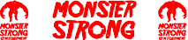 Monster Strong Gym Equipment's Company logo