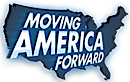 Moving America Forward Hosted By William Shatner's Company logo