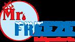 Mr. Freeze Refrigeration's Company logo