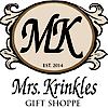 Mrs. Krinkles Gift Shoppe's Company logo