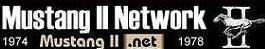 Mustang II Network's Company logo