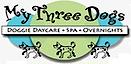 My Three Dogs Daycare & Spa's Company logo