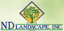 ND Landscaping's Company logo