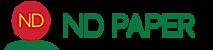 ND Paper's Company logo