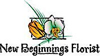 New Beginnings Florist's Company logo
