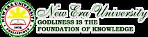 New Era University's Company logo