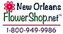 New Orleans Flower Shop Logo