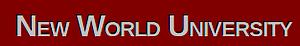 New World University's Company logo
