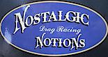 Nostalgic Notions Drag Racing's Company logo