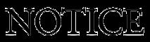 Notice Magazine's Company logo