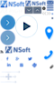 Nsoft's Company logo