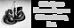 Ohio State Former Boxers & Associates Logo