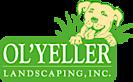 Ol' Yeller Landscaping's Company logo