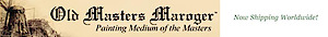 Old Masters Maroger's Company logo