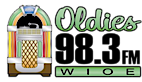 Oldies 98.3 Wioe's Company logo
