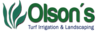 Olson's Irrigation & Landscaping Logo