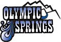 Olympic Springs Bottled Water's Company logo