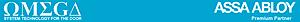 Omega Assaabloy's Company logo