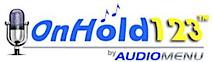 On Hold 123's Company logo