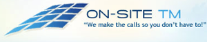ON-SITE TM's Company logo