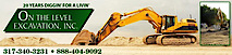 On The Level Excavation's Company logo