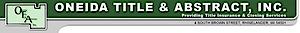 Oneida Title & Abstract's Company logo