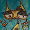 Grinning Cat Sitters's Competitor - Ooky Cats logo