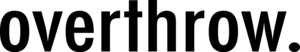 Overthrow Clothing's Company logo