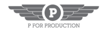 P For Production's Company logo