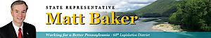Pa State Rep. Matt Baker's Company logo