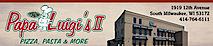 Papa Luigi's Ii's Company logo