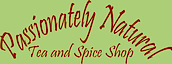 Passionately Natural Tea And Spice Shop's Company logo