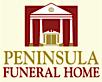 Peninsula Funeral Home's Company logo