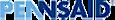 Tris Pharma's Competitor - PENNSAID logo