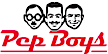 Pep Boys is a retail store that provides automotive repair, maintenance services, tires, parts and accessories.