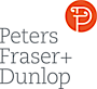 Peters Fraser and Dunlop's Company logo