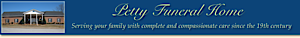 Petty Funeral Home's Company logo