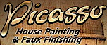 Picasso House Painting & Faux Finishing.  Serving The Woodlands And Houston's Company logo