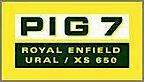 Pig7 - Ural/royal Enfield Berlin's Company logo