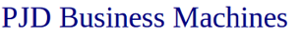 PJD Business Machines's Company logo