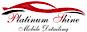 Platinum Shine Mobile Detailing Logo