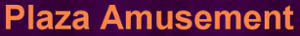 Plaza Amusement's Company logo