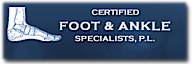 Podiatrist Boca Raton - Certified Foot & Ankle Specialists, P.l's Company logo
