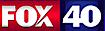 KCRA-TV's Competitor - FOX40 News logo