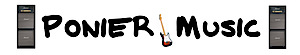 Ponier Music's Company logo
