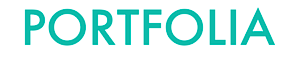 Portfolia's Company logo